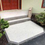 GraniFlex Concrete Front Porch