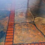 Grand Flagstone Concrete Floor