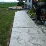 Tuscan Slate Concrete Sidewalk